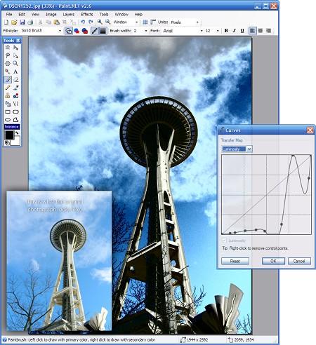 推荐一款免费的图像处理软件-Paint.NET