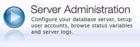 这里可以管理服务器,比如用户。